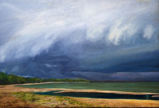 Before the Storm - oil painting by Carolyn Grady
