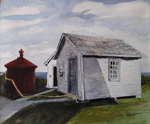 Oil Tank by Margaret Haug-Chlebowski