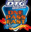 DTG One Pass Fast logó