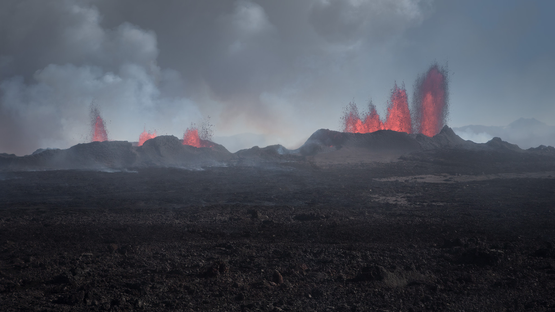 Bardarbunga eruption in Iceland