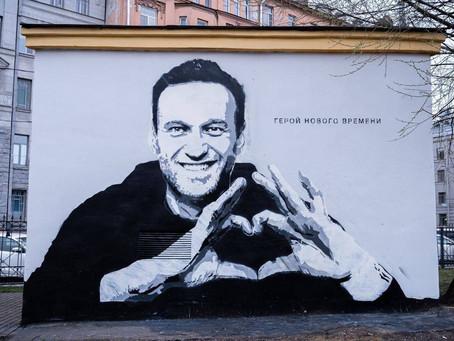В Питере возбуждено уголовное дело из-за графити с портретом Навального