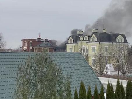 Штурм дома в посёлке Вешки