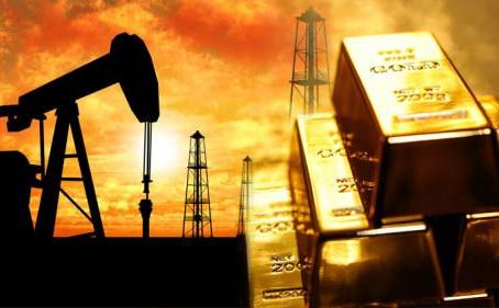 Нефть и золото...