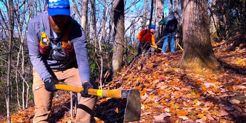 Old Fort Trail Work Day- Kitsuma