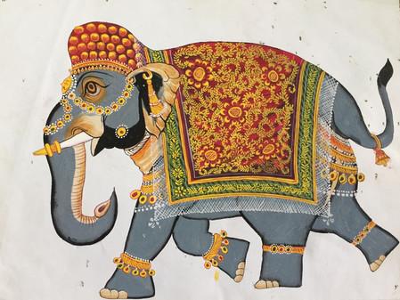 """Mardi 27: Visite du studio d'une artiste indienne et du """"Government College of Fine Arts&qu"""