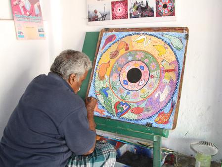 Vendredi 23: Bindu Art School et Point Coeur