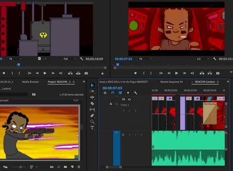 """REACHIN"" New Animation Project"
