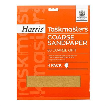 Taskmasters Coarse Sandpaper 4 Pack