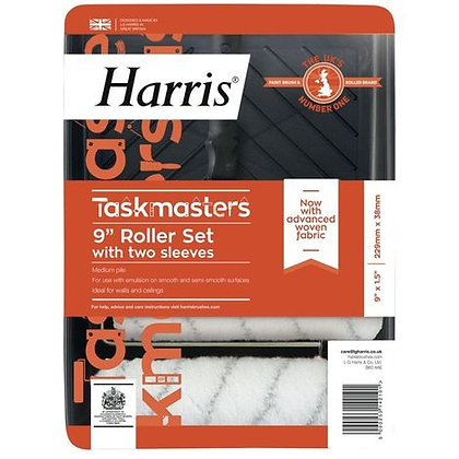 Taskmasters 230mm Roller Set with 2 Covers