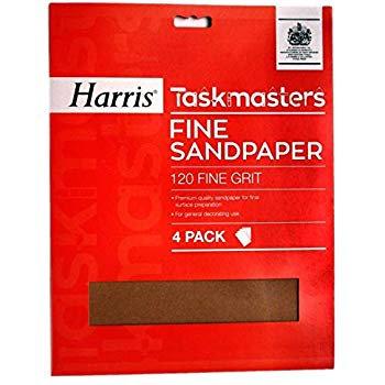 Taskmasters Fine Sandpaper 4 Pack
