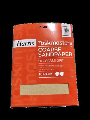 Taskmasters Coarse Sandpaper 10 Pack