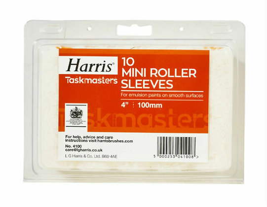 10 Mini Roller Sleeves
