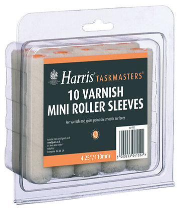 10 Varnish Mini Roller Sleeves
