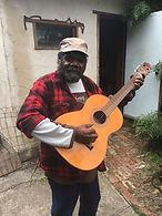 Frank Yamma at Haus Bilas studios