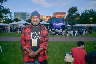 Frank Yamma at Spirit Festival