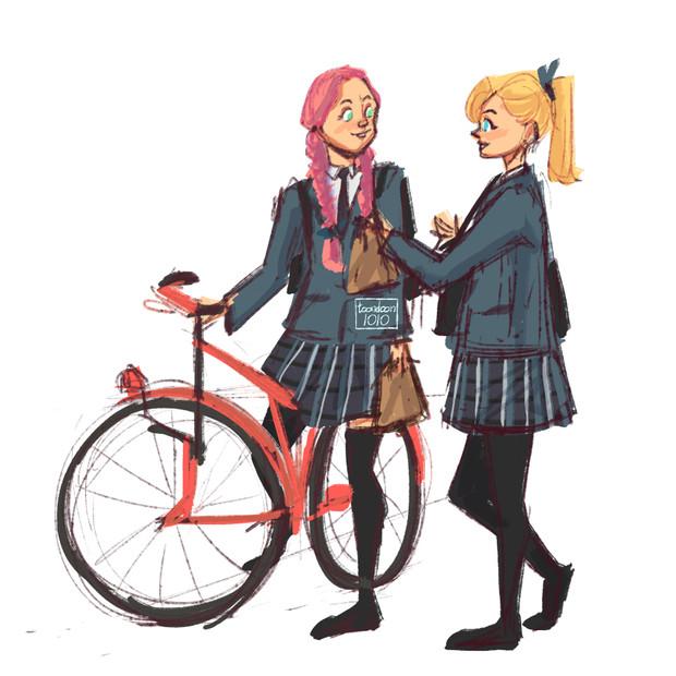 Sakura & Ino