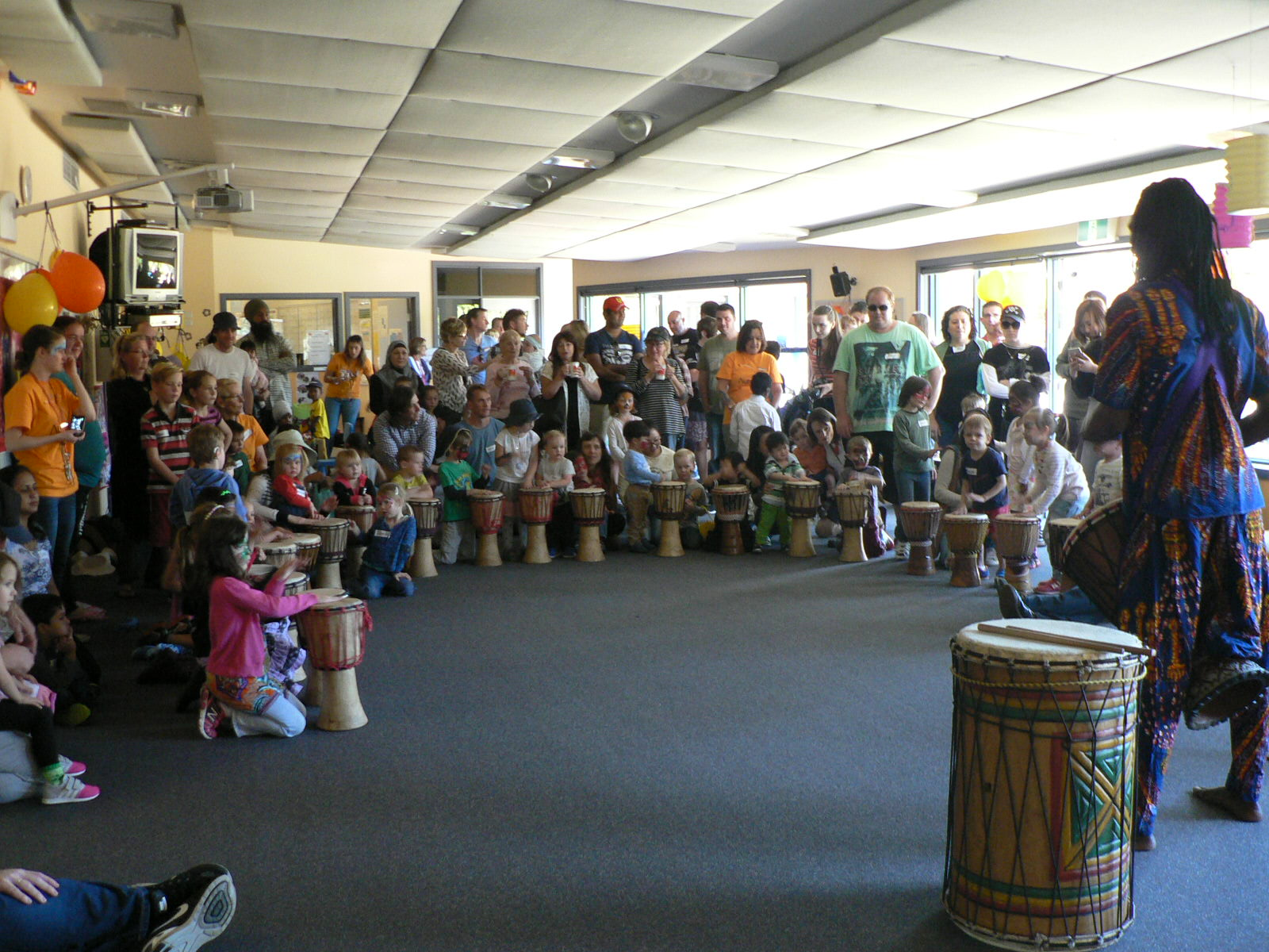 African Drummers performance
