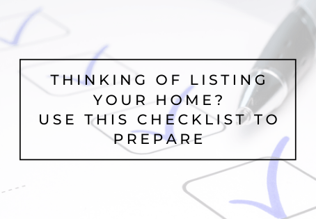 Thinking of Listing your Home?