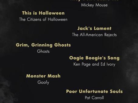 Today's Pinterest Halloween Play List