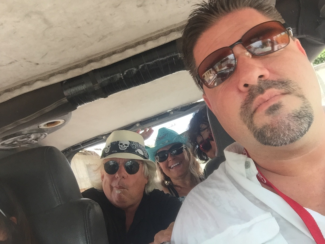 Jeeping in port of Cozumel