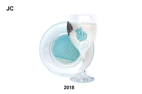 GLASS KIDDUSH CUP