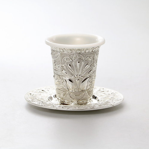 SILVER PLATED KIDDUSH CUP