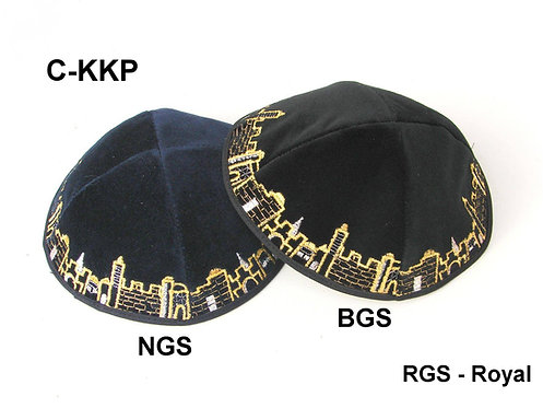 VELVET KIPPAH