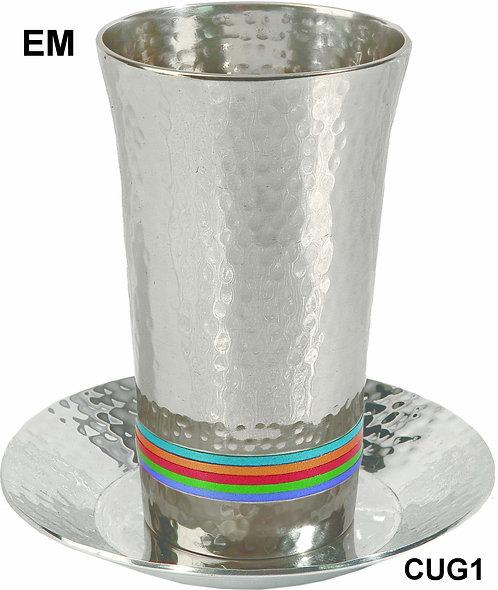 METAL KIDDUSH CUP