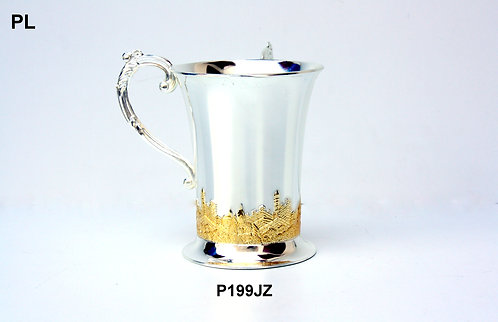 SILVER PLATED WASHING CUP