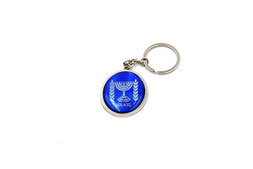 OVAL CD EFFECT KEY CHAIN