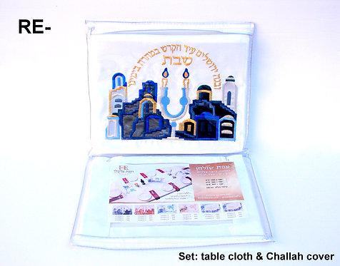 TABLECLOTH SET FOR SHABBAT