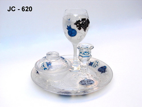 GLASS HAVDALAH SET