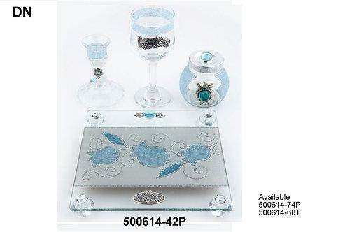 GLASS HAVDALAH SET