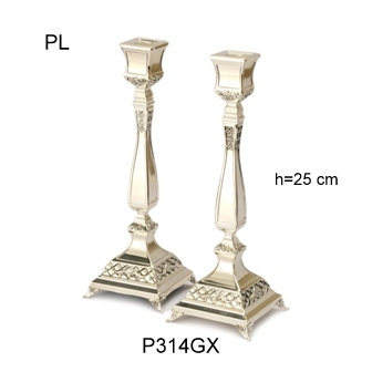 SHABBAT CANDLESTICKS SET