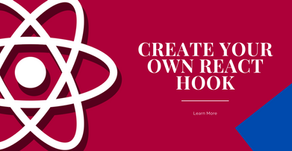 Create your own React Hook.