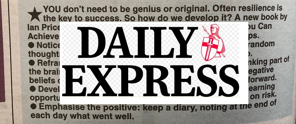 Image of the article and Daily Express logo