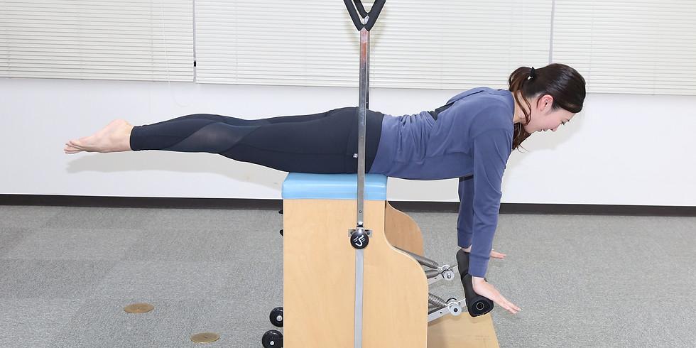 BESJマシンピラティストレーナー資格コース  【Chair】【Spine Corrector】【Ladder Barrel】