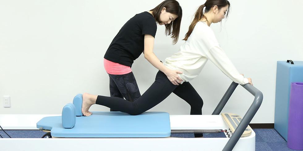 マシンセミナー『股関節へのアプローチ』