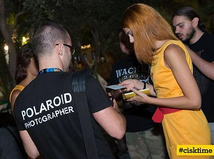 Schmiles polaroid photographer