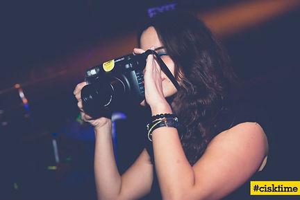 Polaroid photographer