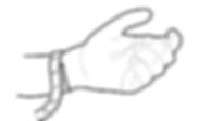 размер на гривна - гривна с камъни
