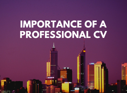 Importance of a Professional CV