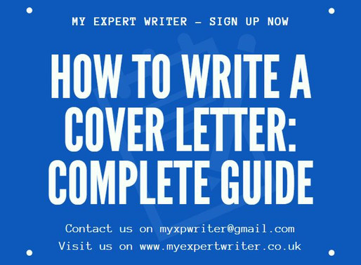 How to Write A Cover Letter: Complete Guide 2020