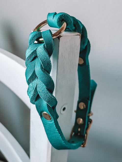 Halsband Pines Türkis Hu 35-42cm