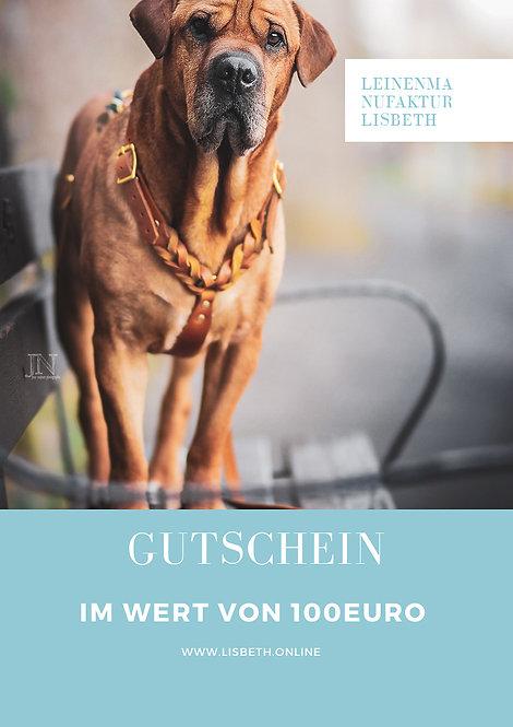 100euro Geschenkgutschein