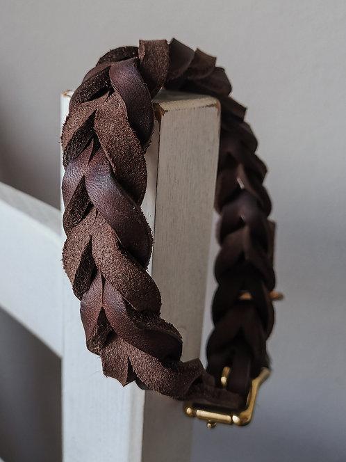 Halsband Pine braun Hu 33-41cm