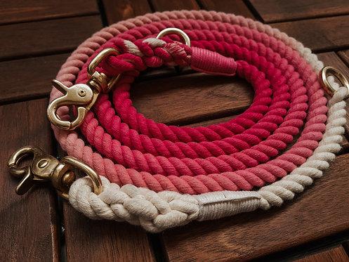 Leine Bali pink ombré