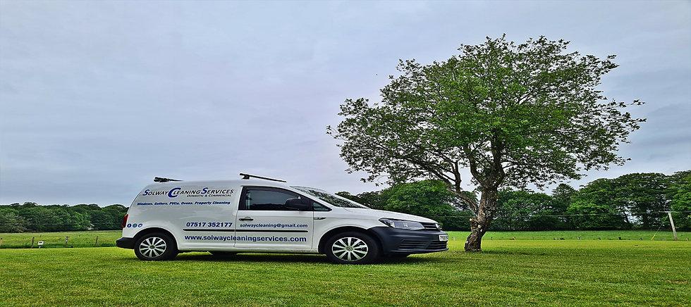 Solway Cleaning Services Dumfries Van VW