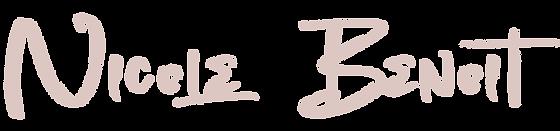 Nicole Benoit The Creative Studios Logo.