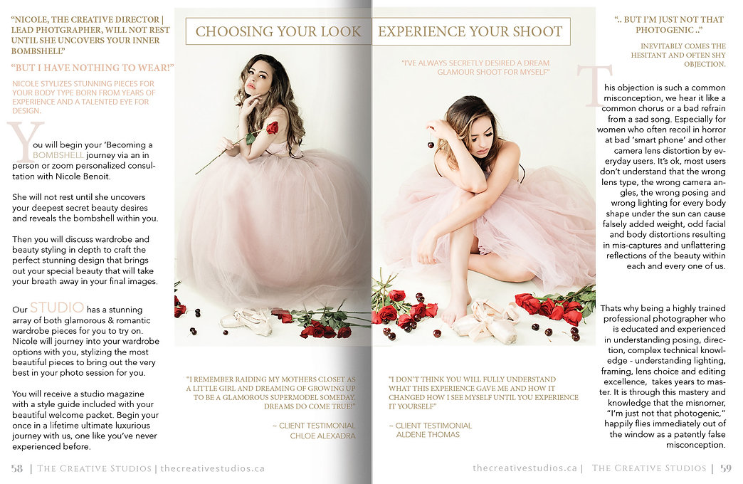 Your shoot_magazine layout_THE CREATIVE